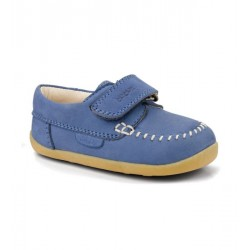 Pantofi baieti Dream albastru din piele naturala